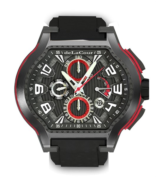 Replica DeLaCour City Ego Episode Ti/PVD 2 WATI0068-1419 Replica Watch