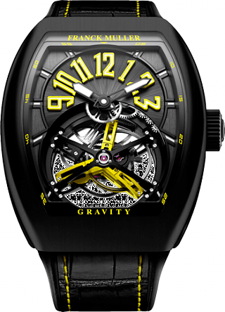 Fake Franck Muller Gravity Yellow V 45 GRS BR BR NR Y watch
