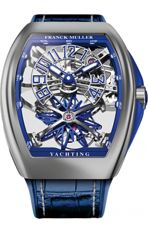 Franck Muller Gravity Yachting Skeleton V45 T GR YACHT SQT ST Replica watch