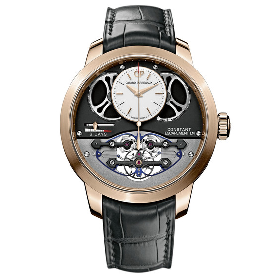 Review Replica Girard-Perregaux CONSTANT ESCAPEMENT L.M. 93500-52-731-BA6E watch