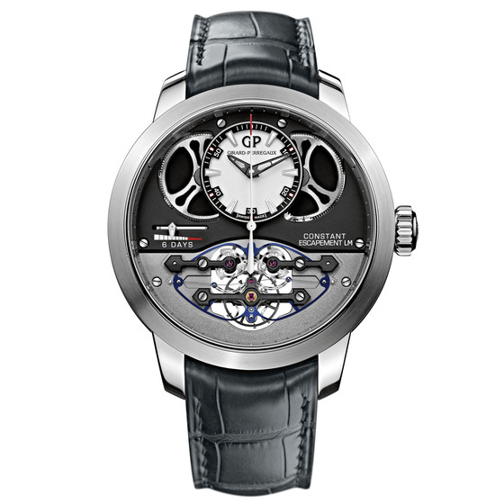 Review Replica Girard-Perregaux CONSTANT ESCAPEMENT L.M. 93500-53-131-BA6E watch
