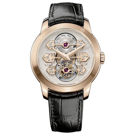 Review Replica Girard-Perregaux TOURBILLON WITH THREE GOLD BRIDGES 41 MM 99193-52-002-BA6A watch