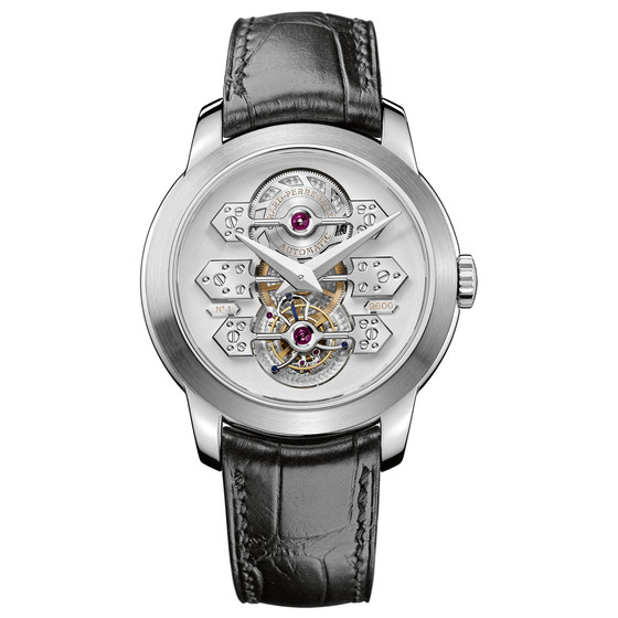 Review Replica Girard-Perregaux TOURBILLON WITH THREE GOLD BRIDGES 41 MM 99193-53-002-BA6A watch