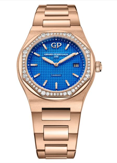 Buy Girard-Perregaux Replica Laureato 34 mm Royalty 80189D52A434-52A watch