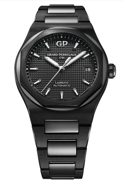 Buy Girard-Perregaux Replica Laureato 38 mm Ceramic 81005-32-631-32A watch