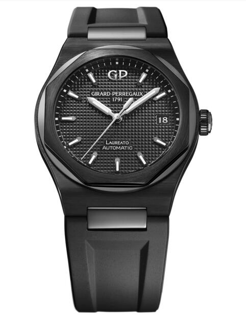 Buy Girard-Perregaux Replica Laureato 38 mm Ceramic 81005-32-631-FK6A watch