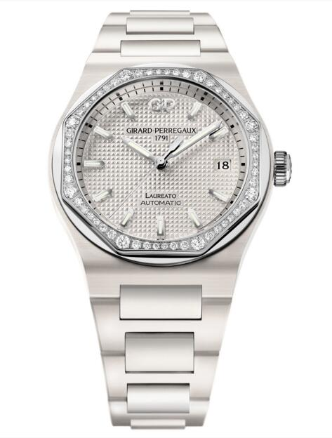 Buy Girard-Perregaux Replica Laureato 38 mm Ceramic 81005D82A732-32A watch