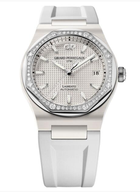 Buy Girard-Perregaux Replica Laureato 38 mm Ceramic 81005D82A732-FK7A watch