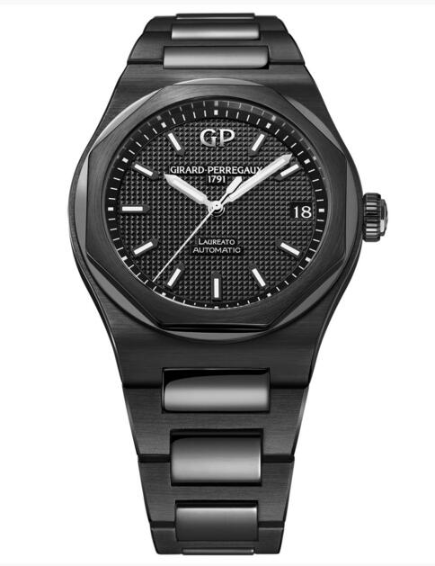 Buy Girard-Perregaux Replica Laureato 42 mm Ceramic 81010-32-631-32A watch