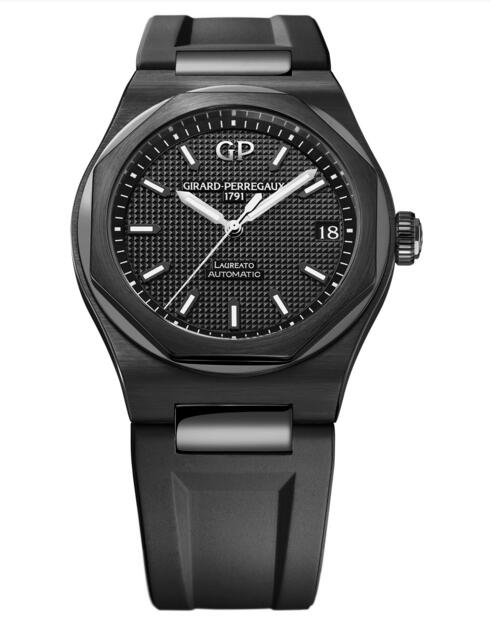 Buy Girard-Perregaux Replica Laureato 42 mm Ceramic 81010-32-631-FK6A watch