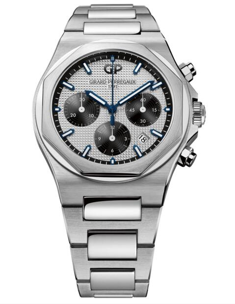 Buy Girard-Perregaux Replica Laureato Chronograph 42 mm 81020-11-131-11A watch
