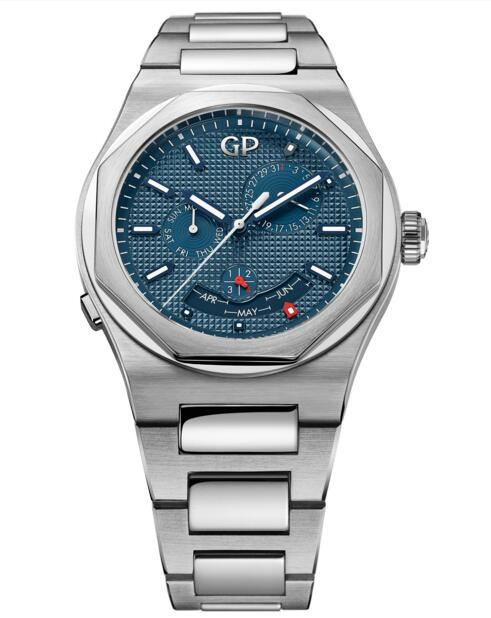 Cheap Girard-Perregaux 2019 Laureato Perpetual Calendar 81035-11-431-11A Replica watch