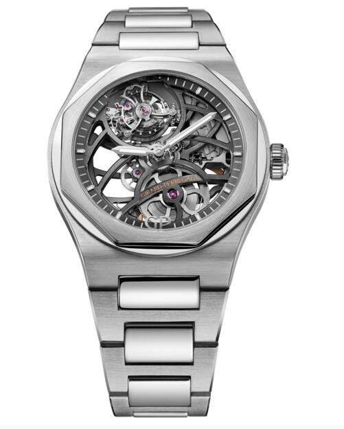 Cheap Girard-Perregaux Replica Laureato Flying Tourbillon Skeleton 99110-53-001-53A watch
