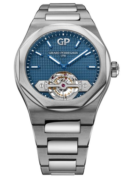 Cheap Girard-Perregaux 2019 Laureato Tourbillon 43 mm 99115-21-431-21A Replica watch