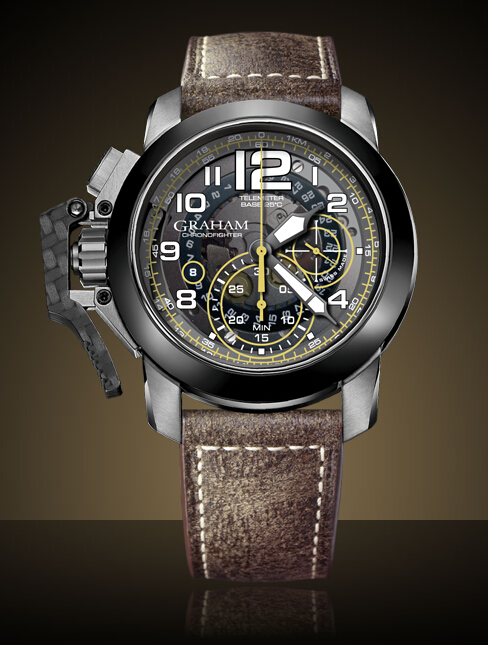 Graham London Chronofighter Oversize Target New - 2CCAC.B16A Men Copy Watch