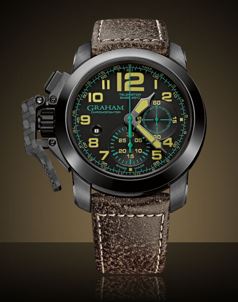 Graham London Chronofighter Oversize - 2CCAU.B09A Men Copy Watch