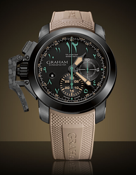 Graham London Chronofighter Oversize Limited Edition - 2CCAU.B12A.K93N Men Copy Watch