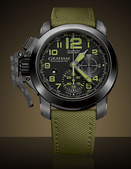 Graham London Chronofighter Oversize - 2CCAU.G01A Men Copy Watch