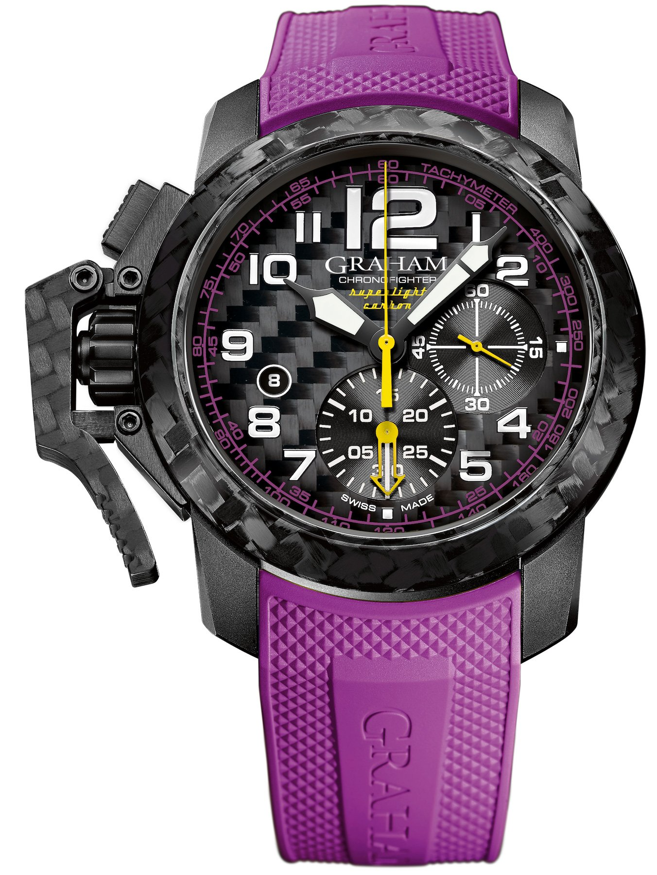 Cheap Replica Graham Watch Chronofighter Oversize Superlight Carbon 2CCBK.V01A