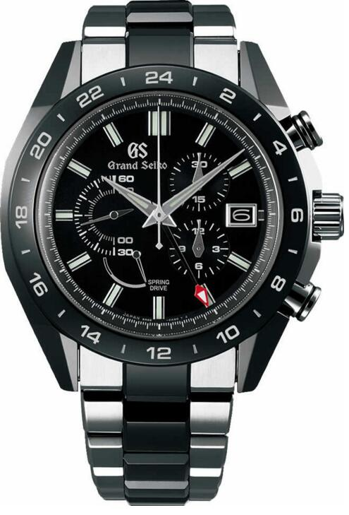 Best replica Grand Seiko Black Ceramic SBGC223 watches