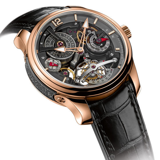 Buy Luxury Replica Greubel Forsey DOUBLE TOURBILLON 30 TECHNIQUE BI-COLOR watch Red Gold