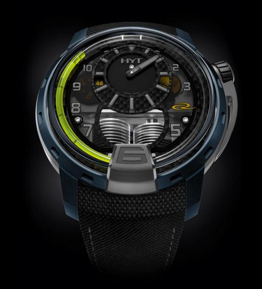 Buy Luxury Replica HYT H1 AIR RC44 148-AB-52-GF-TB watch