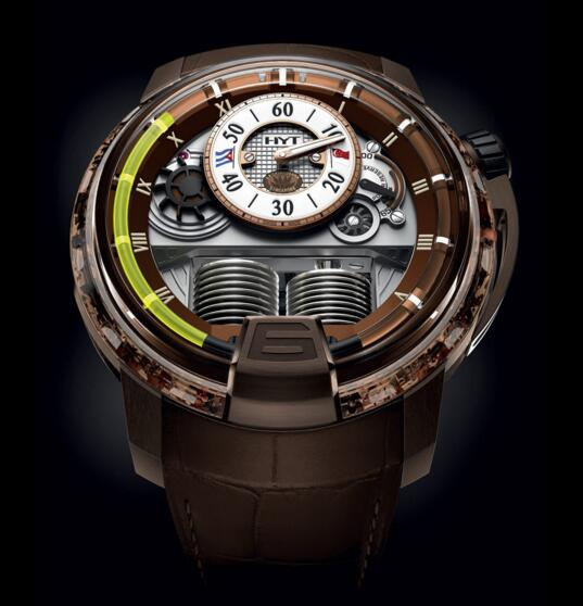 Buy Luxury Replica HYT H1 CIGAR 148-NC-RO-GF-AB watch