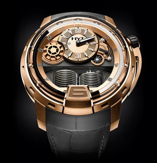 Buy Luxury Replica HYT H1 FULL GOLD 148-PG-15-NF-AG watch