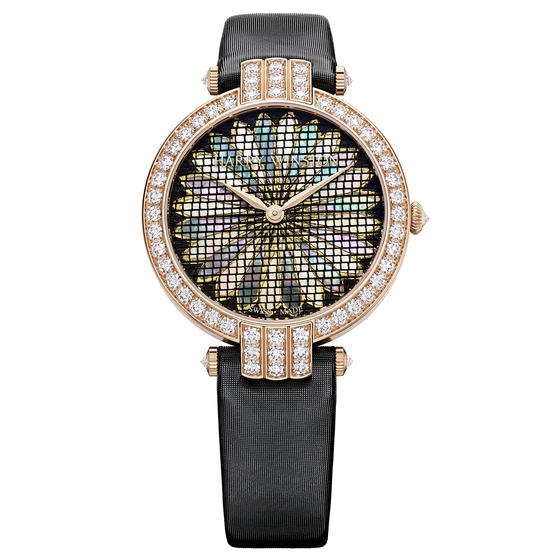 Discount Harry Winston PREMIER PRECIOUS WEAVING AUTOMATIC 36MM Pink Gold watch replica