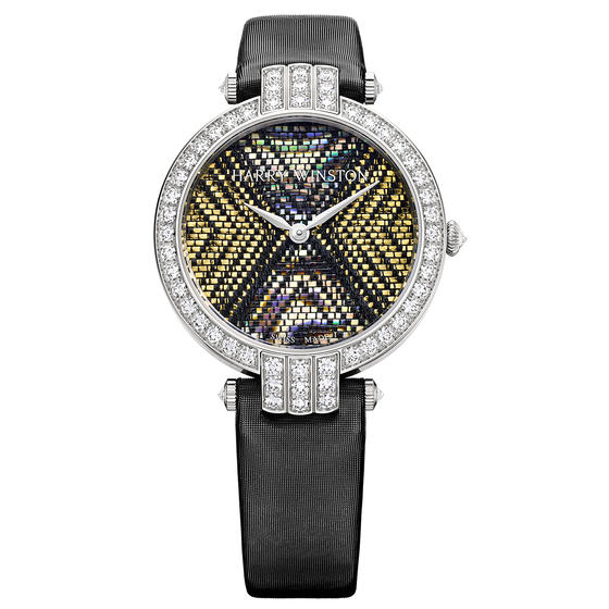 Discount Harry Winston PREMIER PRECIOUS WEAVING AUTOMATIC 36MM Automatic watch replica