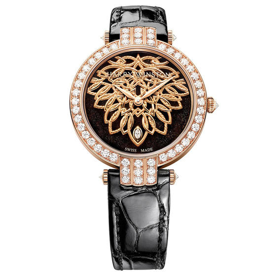 Discount Harry Winston PREMIER SHINDE AUTOMATIC 36MM PRNAHM36RR004 watch replica