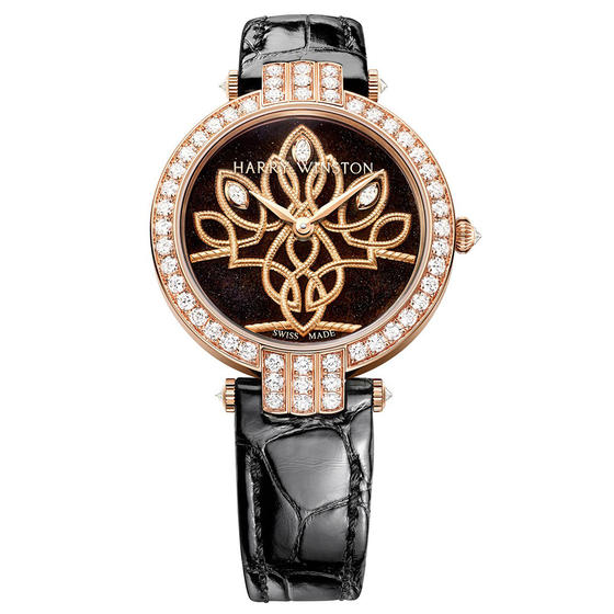Discount Harry Winston PREMIER SHINDE AUTOMATIC 36MM PRNAHM36RR006 watch replica