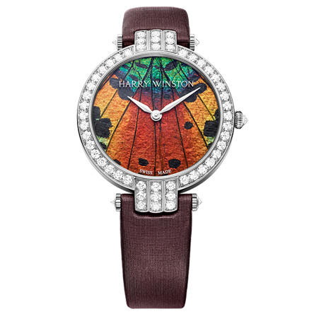 Discount Harry Winston PREMIER PRECIOUS BUTTERFLY AUTOMATIC 36MM PRNAHM36WW005 watch replica