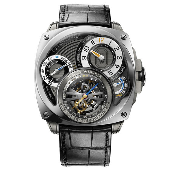 Replica Harry Winston HISTOIRE DE TOURBILLON 4 HCOMDT47WZ001 watch Review