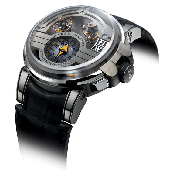 Replica Harry Winston HISTOIRE DE TOURBILLON 1 HCOMDT48WZ001 watch Review
