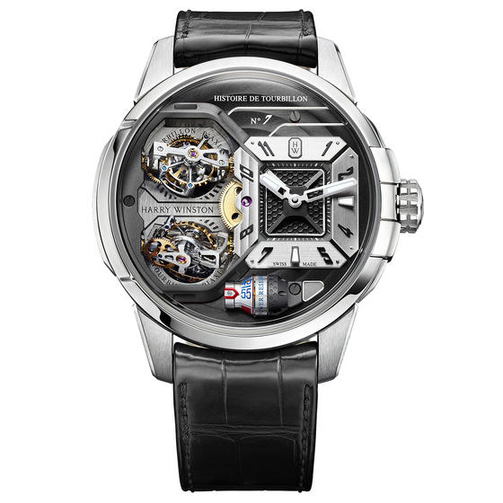 Replica Harry Winston HISTOIRE DE TOURBILLON 7 HCOMDT51WW001 watch Review
