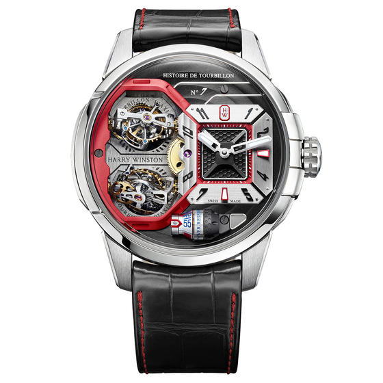 Replica Harry Winston HISTOIRE DE TOURBILLON 7 HCOMDT51WW002 watch Review