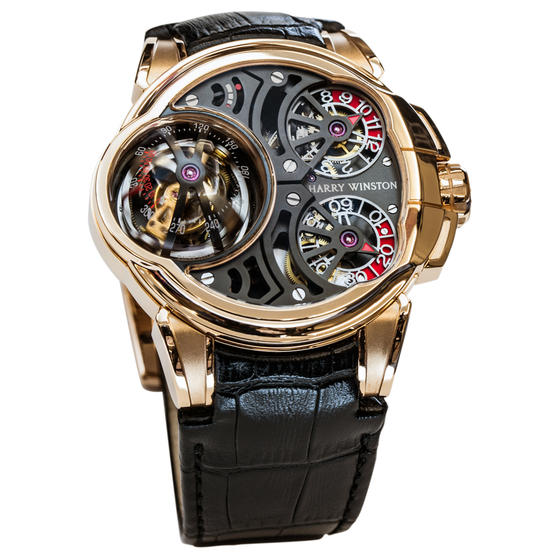 Replica Harry Winston HISTOIRE DE TOURBILLON 5 HCOMTT47RR001 watch Review