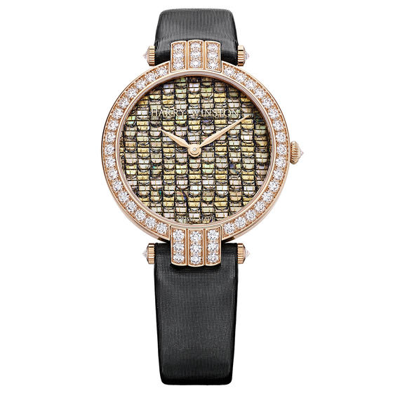Discount Harry Winston PREMIER PRECIOUS WEAVING AUTOMATIC 36MM watch replica