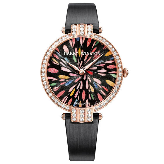 Buy Replica Harry Winston PREMIER FEATHERS LIMITED EDITION GENEVA PRNQHM36RR007 watch