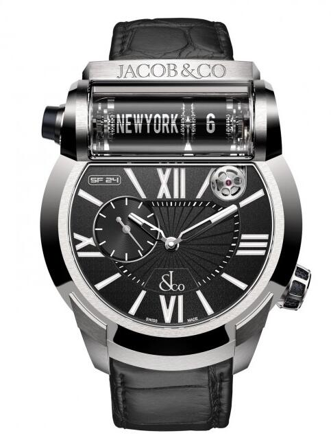 replica Jacob & Co Epic SF 24 500.101.20.NS.LH.1NS watch for sale