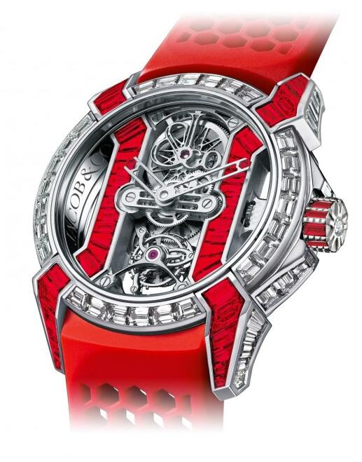 Swiss Luxury Jacob & Co Epic X Tourbillon Baguette 550.500.30.BD.BR.1BD replica watch review