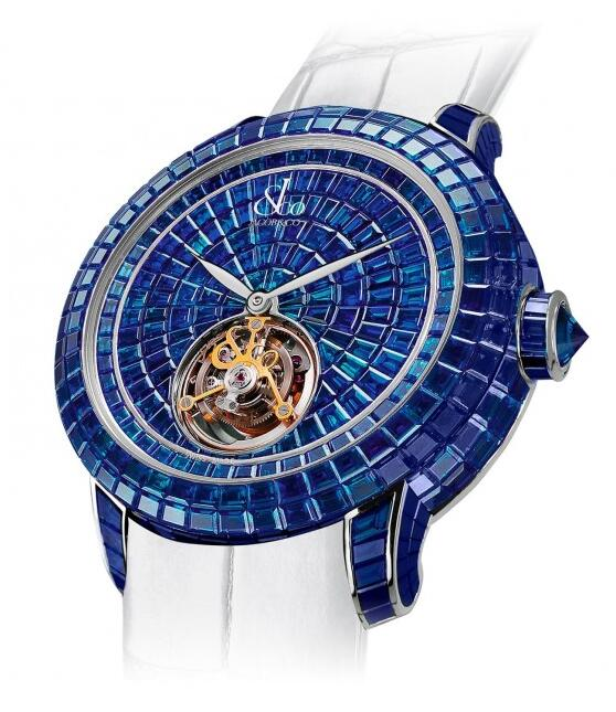 Buy Replica Jacob & Co Caviar Tourbillon 600.201.30.BB.BB.1BB watch