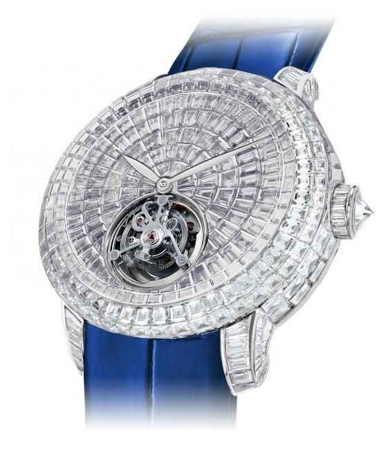Buy Replica Jacob & Co Caviar Tourbillon 600.201.30.BD.BD.1BD watch