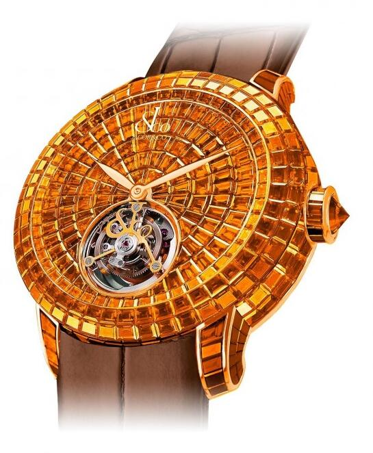 Buy Replica Jacob & Co Caviar Tourbillon 600.201.40.BO.BO.1BO watch