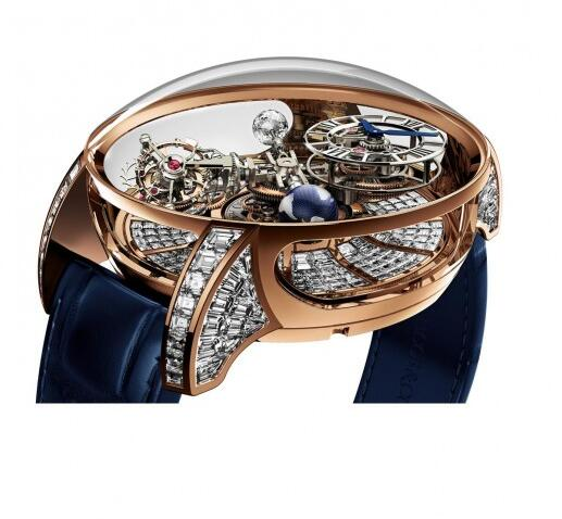 Buy Replica Jacob & Co Astronomia Tourbillon Baguette 750.800.40.BD.BD.1BD watch