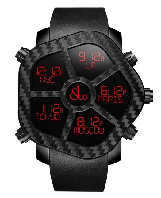Buy Jacob & Co Ghost Carbon replica watch