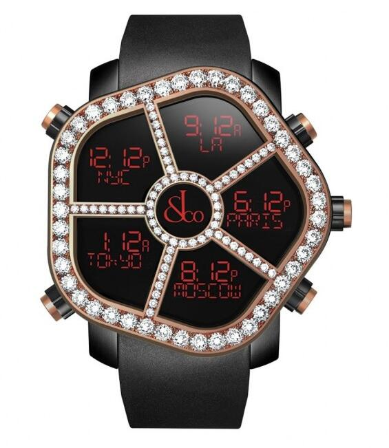 Buy Jacob & Co Ghost Rose Gold replica watch
