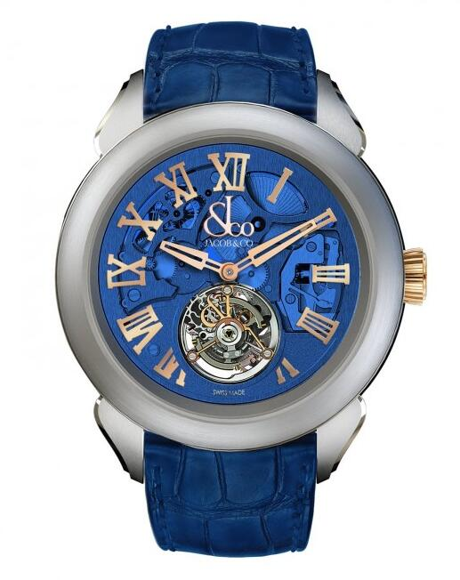 luxury replica Jacob & Co. Palatial Tourbillon Hours & Minutes 150.520.24.NS.QB.1NS watch