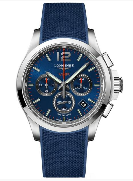 Longines VHP Replica Conquest V.H.P. Chronograph L3.717.4.96.9 watch